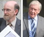 Leo Adamson, left. John Parratt right