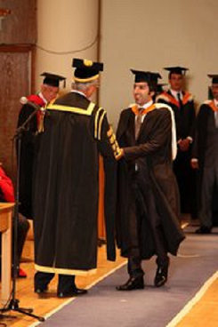 His name? academic gown fetish they were