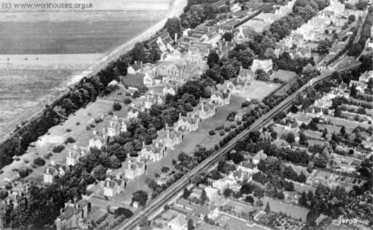 Banstead Homes from the south-west, 1950s.