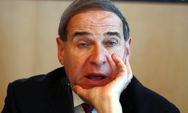 Leon Brittan in close up